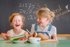 Ook zuivel, groente en fruit tijdens Nationaal Schoolontbijt 2018